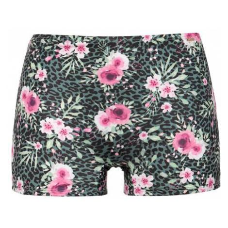 Květované bikinové kalhotky s nohavičkami Cellbes