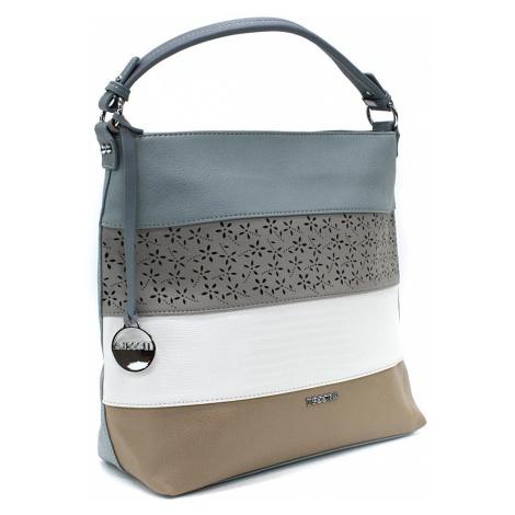 Modrá barevná dámská kabelka na rameno Fayanna Tapple