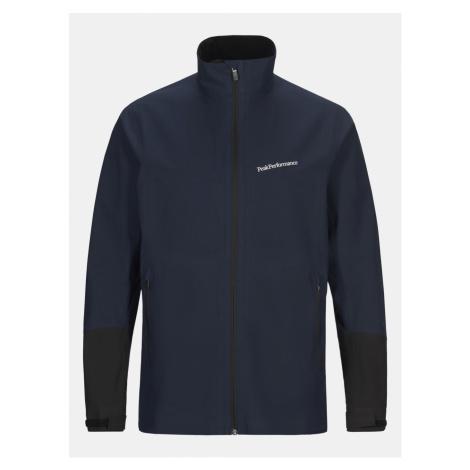 Bunda Peak Performance M Velox Jacket - Modrá