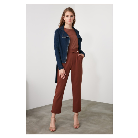 Women's pants Trendyol Mink