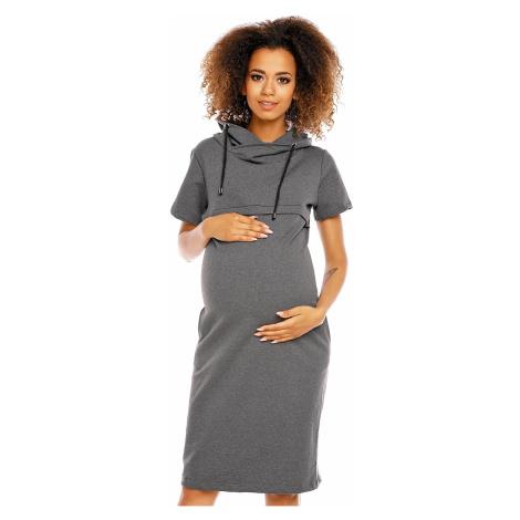 Těhotenské šaty model 94426 PeeKaBoo Pee Ka Boo