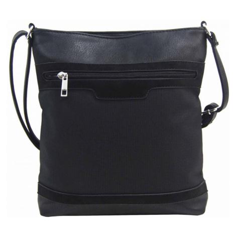 Černá crossbody dámská kabelka FB1913 Rosy bag