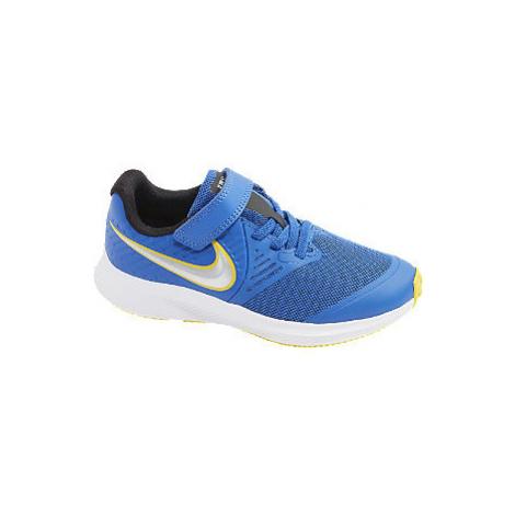 Modré tenisky na suchý zip Nike Star Runner 2