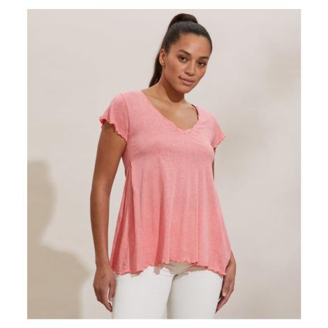 Tričko Odd Molly Carole Top - Růžová