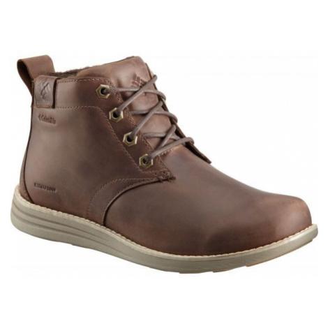 Columbia IRVINGTON II CHUKKA LTR WP hnědá - Pánská vycházková obuv