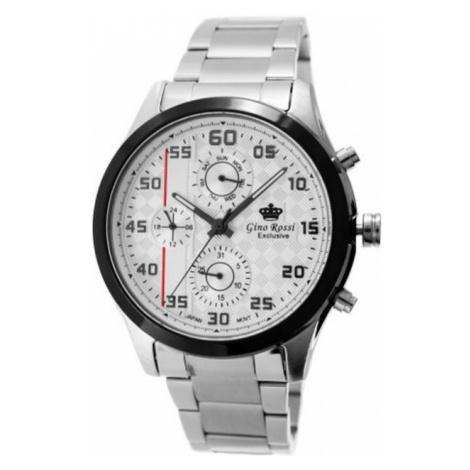 Pánské hodinky Gino Rossi EXCLUSIVE CHONOGRAF E11648B-3C1