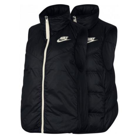 Nike NSW WR DWN FILL VEST REV bílá - Dámská oboustranná vesta