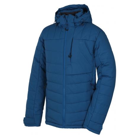 Husky Norel M, tl. tm. modrá Pánská plněná zimní bunda