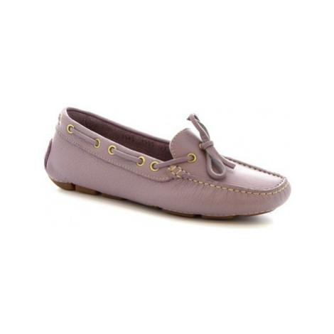 Leonardo Shoes 7502A MOUSSE VIOLET Fialová