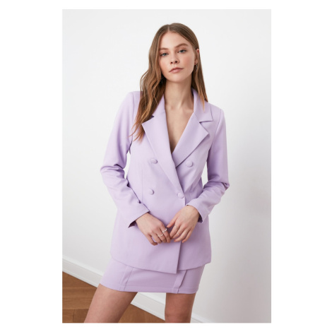 Women's blazer Trendyol Button detailed