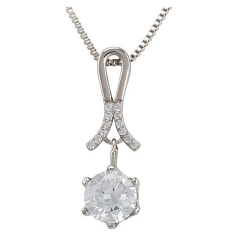 Linda's Jewelry Bižuterní řetízek s přívěskem Stuha Shiny INH052
