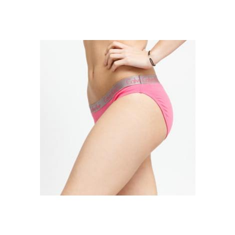 Calvin Klein 3Pack Bikini - Slip černé / růžové / bílé