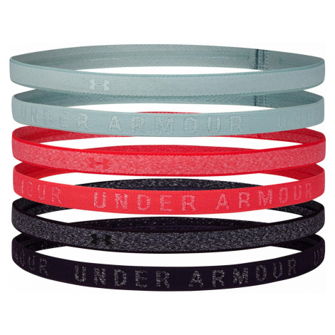 Čelenky Under Armour Heather Mini Headband (6 Pack) Více barev