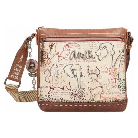 Anekke béžové kabelka Safari Fusion