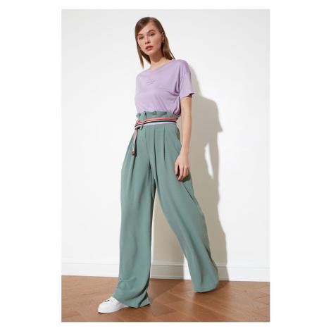 Trendyol Mint Wide Leg Pants