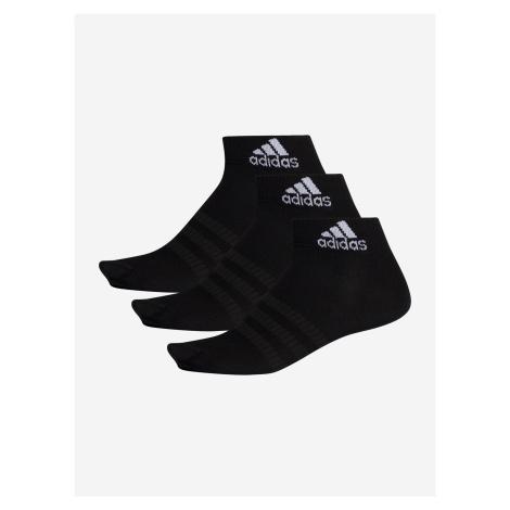Ponožky adidas Performance Light Ank 3Pp Černá