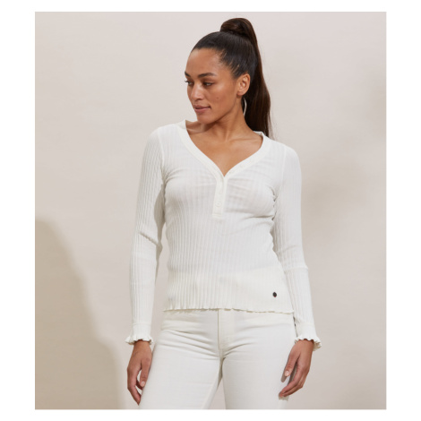 Tričko Odd Molly Lindsay Top - Bílá