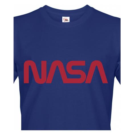 Pánské tričko s potiskem vesmírné agentury NASA BezvaTriko