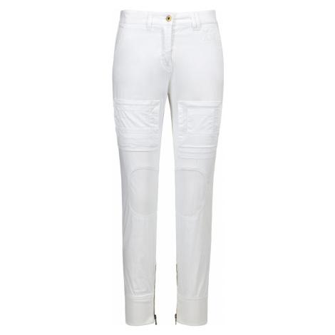 Kapsáčové kalhoty AERONAUTICA MILITARE bílá