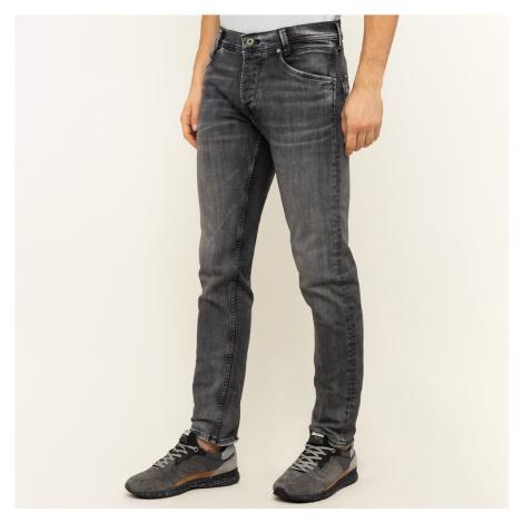 Pepe Jeans pánské tmavě šedé džíny Spike