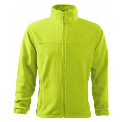 RIMECK Jacket 280 Pánská fleece bunda 50162 limetková
