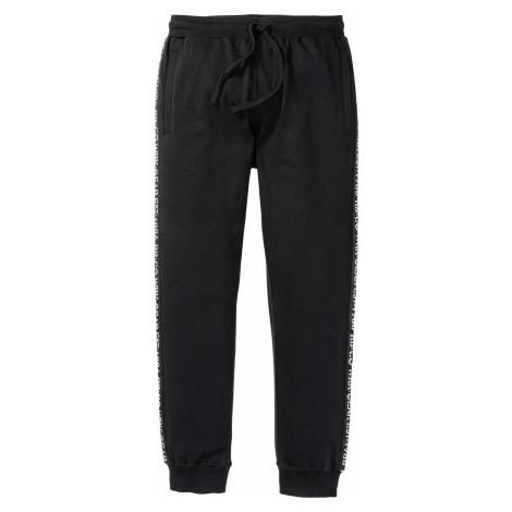 Joggingové kalhoty s reflexními detaily Bonprix