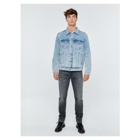 Big Star Man's Jacket 130187 Light Jeans-199
