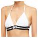 Calvin Klein dámské plavky 907 vrchní díl bílé - Bílá