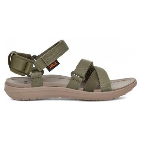 Teva Sanborn Mia L, zelená Dámské sandále