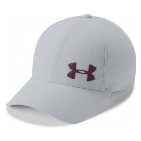 Under Armour MEN'S AIRVENT CORE CAP šedá - Pánská čepice s kšiltem