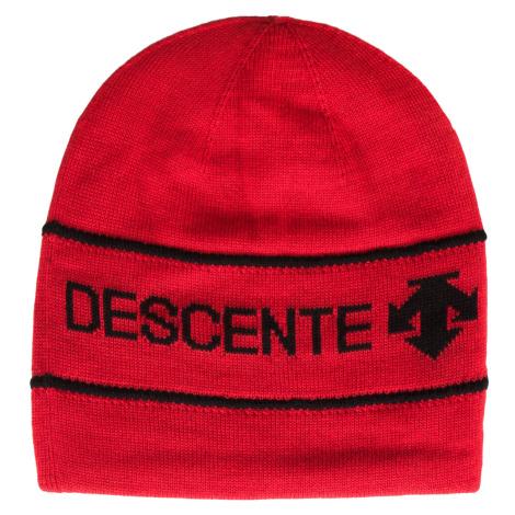 Čepice Descente KELTON  červená