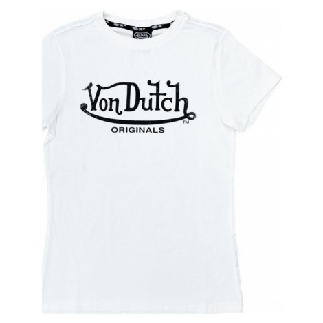 Von Dutch T-shirt femme Alexis Bílá