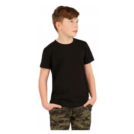 Dětské tričko s krátkým rukávem Litex 5A386 | černá