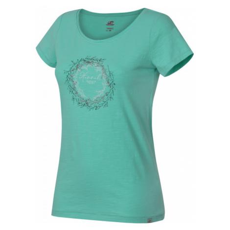Dámské tričko Hannah Karmela ice green