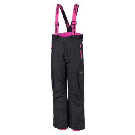 Lewro HRISCO růžová - Dětské snowboardové kalhoty