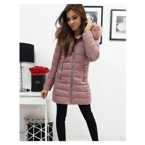 Women's quilted jacket AMELIA pink TY1037 DStreet