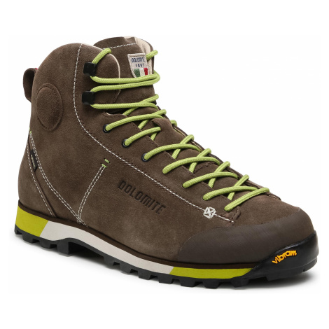 Trekingová obuv DOLOMITE - Cinquantaquattro Hike Gtx GORE-TEX 269482-556 Mud/Green