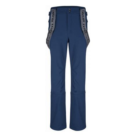 LOAP LEMAR Pánské softhellové kalhoty SFM1815M50M modrá