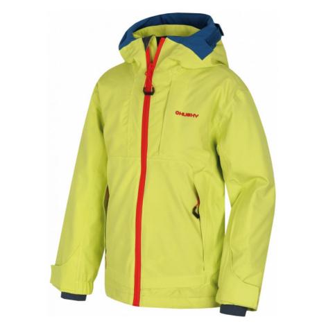 Dětská lyžařská bunda HUSKY Zisi světle zelená