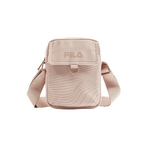 Růžová taška přes rameno Fila