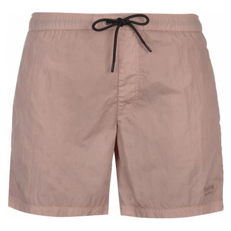 Firetrap Blackseal Dye Swim Shorts