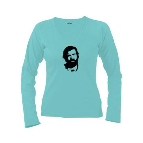 Dámské tričko dlouhý rukáv Bud Spencer