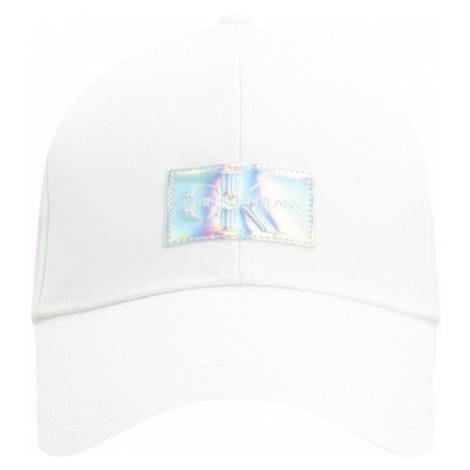 Calvin Klein Calvin Klein Jeans dámská bílá kšiltovka IRIDESCENT CAP