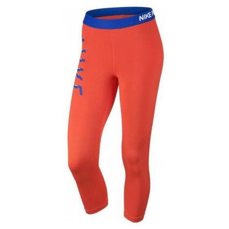 Dámské 3/4 legíny Nike Pro Cool Capri Oranžová / Modrá