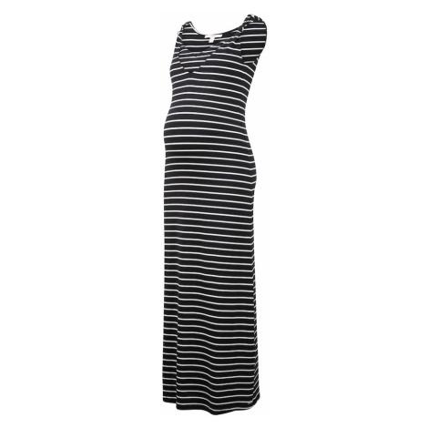 Esprit Maternity Letní šaty černá / bílá