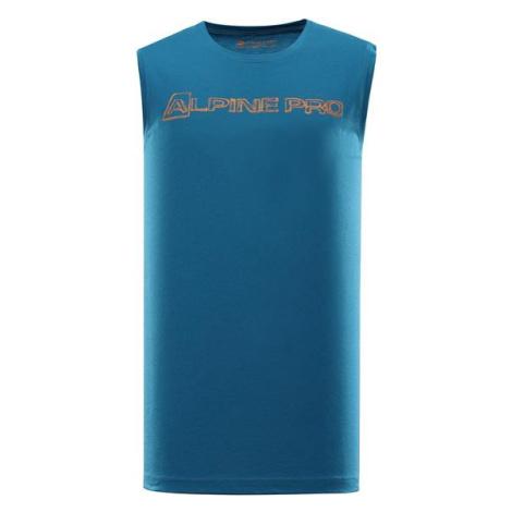 Houdin 2 modrá pánské rychleschnoucí tílko ALPINE PRO
