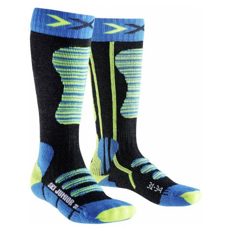 Ponožky X-Socks SKI JUNIOR modrá
