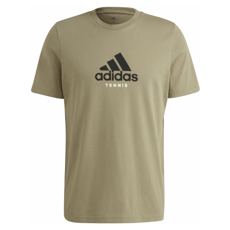 Pánské tričko adidas NYC Graphic Logo T-Shirt Orbit Green