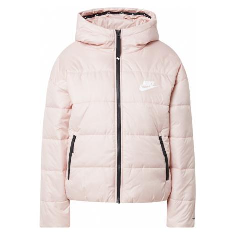 Nike Sportswear Přechodná bunda růžová / bílá