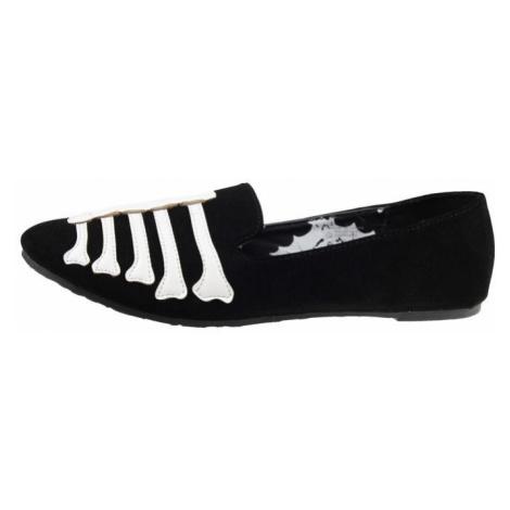 IRON FIST Wishbone Loafer Flat Černá